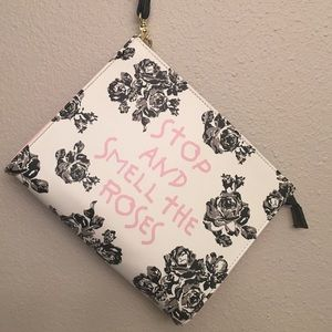 Betsey Johnson, Stop and Smell the Roses, clutch